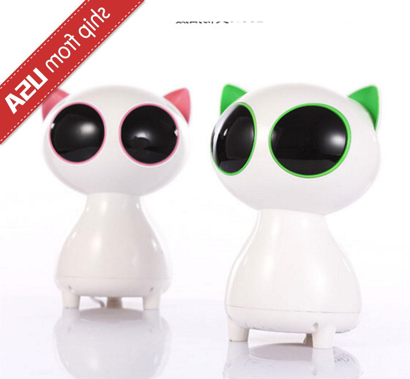 Robot Cat USB Laptop Speaker System Cartoon Portable Subwoof