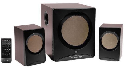 Rockville ROCK MEDIA Bluetooth Home Theater Speaker System+S