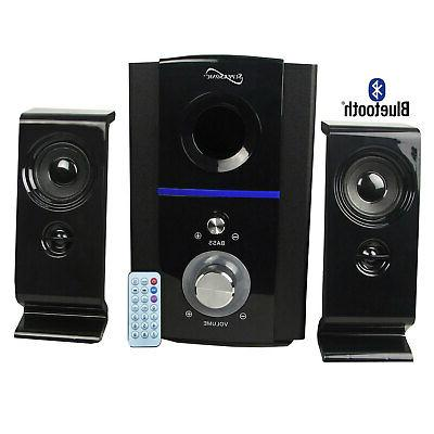 Supersonic SC1126 Clear Multimedia FM Speakers