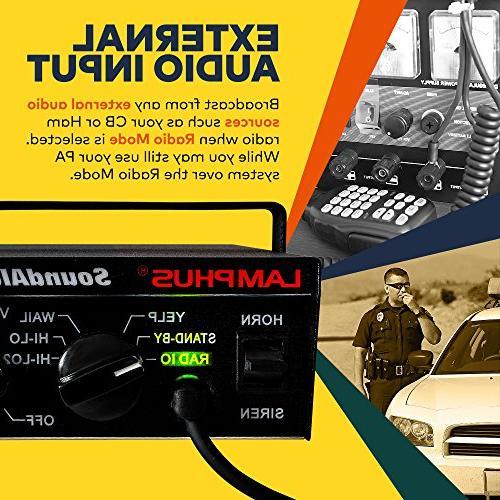 LAMPHUS Speaker System Horn Sound Police & Fire Trucks