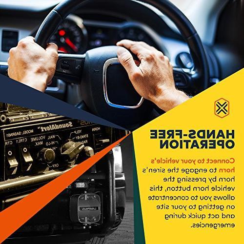 LAMPHUS Speaker PA System Horn Sound for Police & Trucks