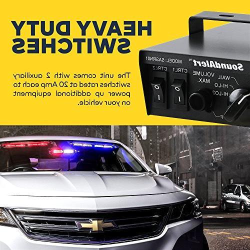 LAMPHUS Speaker PA Horn Police & Fire Trucks