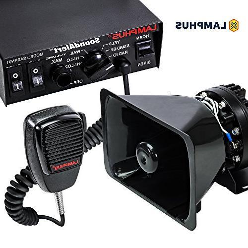soundalert siren speaker pa system