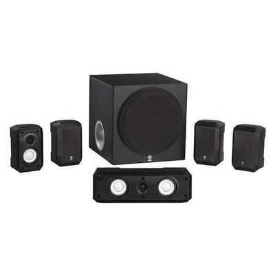 "Speaker System,Indoor,11-13/32"" H,Black YAMAHA NS-SP1800BL"