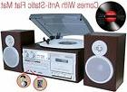 Turntable and Speaker System, Record Player Stereo Music Blu