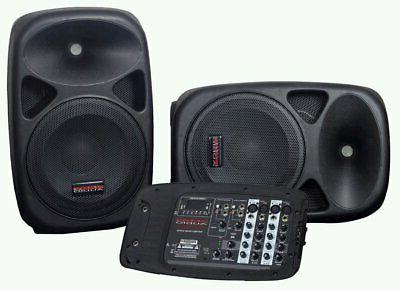 ultra compact portable pa system w 2