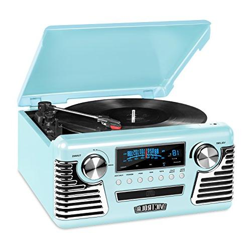 Victrola 50's Retro Bluetooth with CD