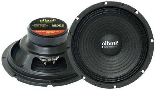 wh8 power paper cone subwoofer