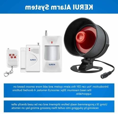 KERUI Alarm Speaker