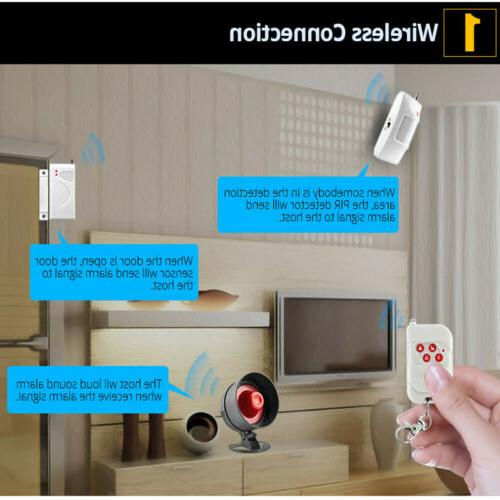 KERUI Home Wireless Alarm System Local Speaker Security