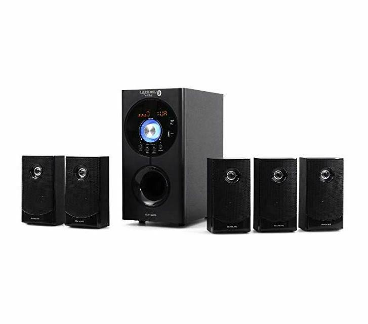 Wireless Surround Sound Home Entertainment Theater Speaker Set
