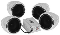 "Boss MC470B Speakers 3"" Motorcycle/UTV Speaker System 1000W"