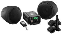 BOSS AUDIO MCBK520B Black 600 watt Motorcycle/ATV Sound Syst