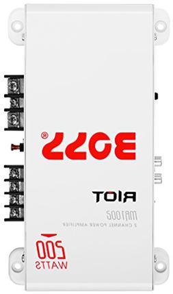 BOSS Audio MR1002 Marine Grade 200 Watt, 2 Channel, 2/4 Ohm