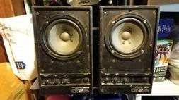 YAMAHA MS10 PERSONAL STUDIO SYSTEM MONITOR SPEAKER SET
