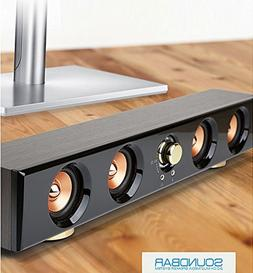 Royche MUSES MIDAS S3 Wood Soundbar 2.0 Multimedia Speaker S