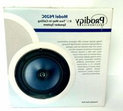 """NEW PRODIGY ELECTRONICS 1 Pair 6 1/2"""" Two Way In-Ceiling Spe"""