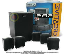 New in box Creative SBS 560 - 5.1 Speaker System