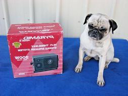 New Pyramid Phase III Hi-Fi 3-Way Stereo Speaker System 200
