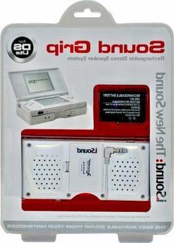 Nintendo DS Lite Rechargeable Stereo Speaker System Sound Gr