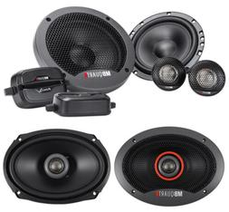 """Pair MB QUART FSB216 6.5"""" 280 Watt Component Speakers+ 6x9"""""""