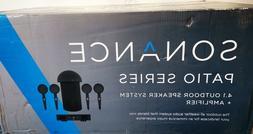 Sonance Patio 4.1 System Sonarray 4 Speakers 1Subwoofer + SR