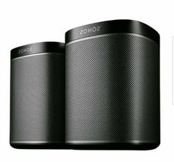 SONOS PLAY:1 TWO PACK HOME SPEAKER WI-FI WIRELESS SYSTEM SET