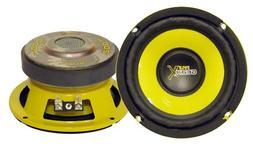 Car Mid Bass Speaker System - Pro 5 Inch 200 Watt 4 Ohm Auto
