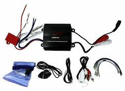 PYLE PLMRMP3B 4-Channel 800-Watt Waterproof Micro Marine Amp