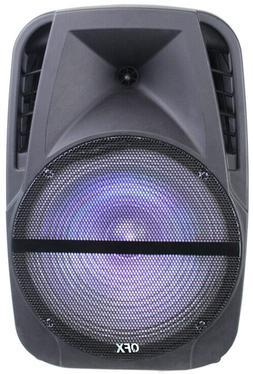 Portable Active PA Speaker w/ Mic Guitar AMP Bluetooth USB S