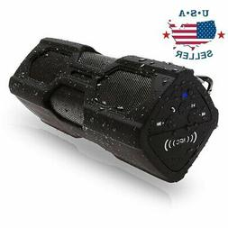 Portable Bluetooth Wireless Speaker Waterproof Power Bank Su