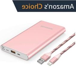 Portable Charger 10000mAh Power Bank External Battery Backup