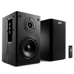 Frisby Powered Bluetooth Bookshelf Speakers 2.0 Active Monit