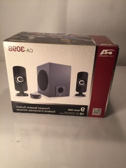 Cyber Acoustics 9 watt Powered Speaker System with Control P