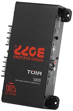 BOSS Audio R1002 Car Amplifier – 2 Channel, 200 Watts Max