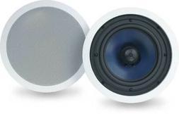 """Polk Audio RC80i 2-way Premium In-Ceiling 8"""" Round Speakers,"""