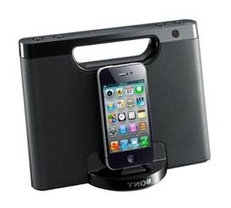Sony RDPM7iPBLK Portable Speaker Dock for iPod/iPhone,