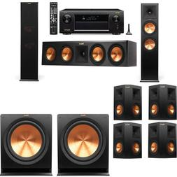 Klipsch RP-280F Tower Speakers-7.2-Denon AVR-X6300H
