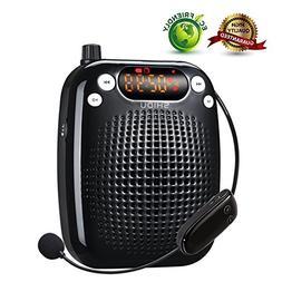 Voice Amplifier, SHIDU Wireless Voice Amplifier 10W Recharge