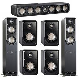 Polk Audio Signature 7.0 System with 2 S50 Tower Speaker, 1