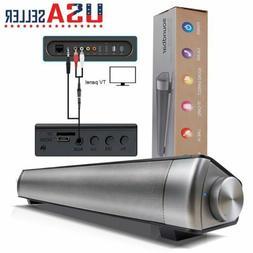 Sound bar Wireless Bluetooth Speaker Super Bass Stereo Home