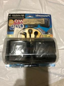 Panasonic Speaker System And Stereo Earphones