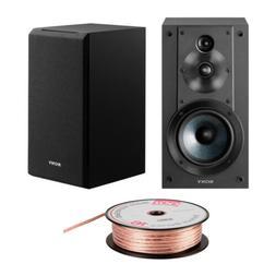 Sony SSCS5 3-Way 3-Driver Bookshelf Speaker System  Bundle