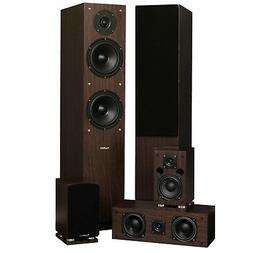 Fluance SXHTBW 5 Speaker Surround Sound Home Theater System