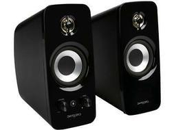Creative T15 Wireless Bluetooth 2.0 Speaker System, 51MF1670