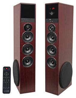 Rockville TM150C Bluetooth Home Theater Tower Speaker System