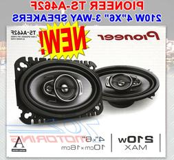 "Pioneer TS-A462F 4"" x 6"" 3-Way Coaxial Speaker System"