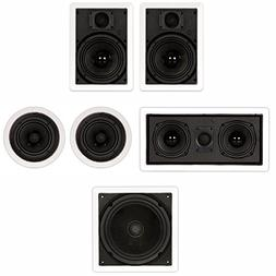 "Theater Solutions TST65 In Wall and In Ceiling 6.5"" Speakers"