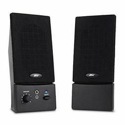 Cyber Acoustics USB Powered 2.0 Desktop Speaker System with