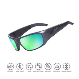 Waterproof Bluetooth Sunglasses,Open Ear Wireless Sunglasses